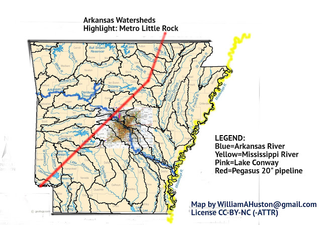 arkansas watersheds-2 rivers-w-metro-LR+pipeline